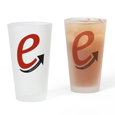 Engage Books Logo Drinking Glass