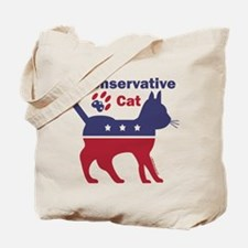 Conservative Cat Introductory Icon Tote Bag