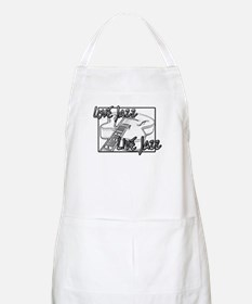 LOVE JAZZ LIVE JAZZ Apron