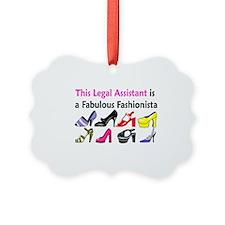 LEGAL ASSISTANT Ornament