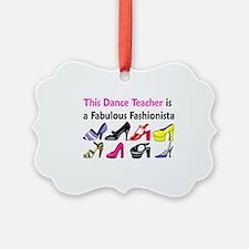 DANCE TEACHER Ornament