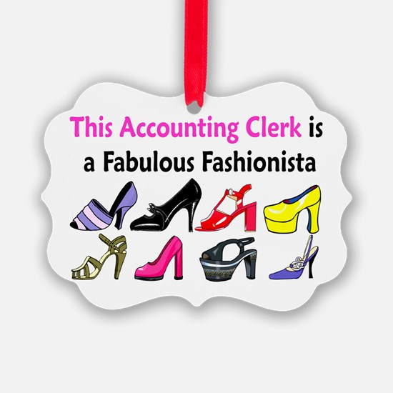ACCOUNTING CLERK Ornament