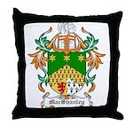 MacShanley Coat of Arms Throw Pillow