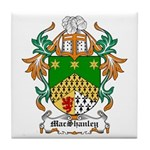 MacShanley Coat of Arms Tile Coaster