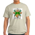 MacShanley Coat of Arms Ash Grey T-Shirt