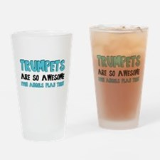 Trumpets Are Awesome Drinking Glass