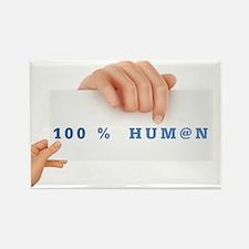 100@HUMAN.gif Rectangle Magnet