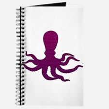 Purple Octopus Mosaic Journal