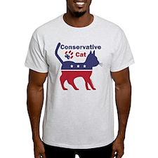 Conservative Cat Intro T-Shirt