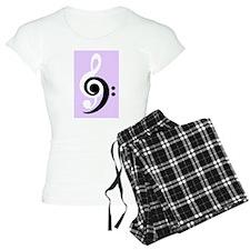 Black and white bond in music Pajamas