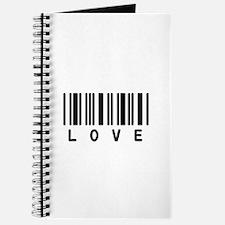 Love Barcode Journal