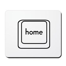 Home Button Mousepad