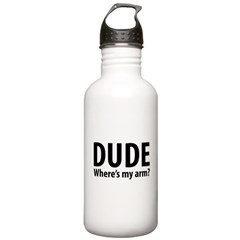 DudeArm.png Water Bottle