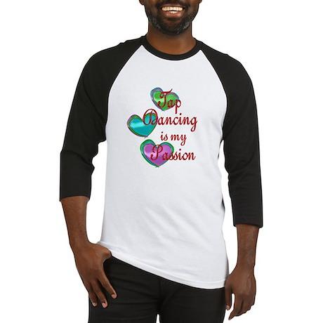 Tap Dancing Passion Baseball Jersey