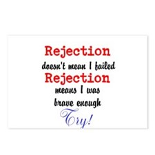 Brave Rejection! Postcards (Package of 8)