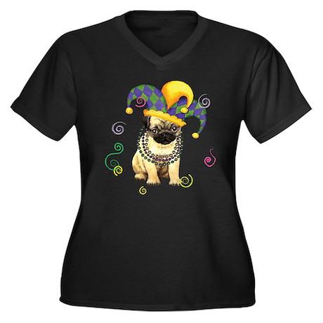 pug party Plus Size T-Shirt