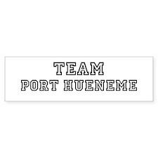 Team Port Hueneme Bumper Bumper Sticker