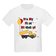 DUMPTRUCKFIRSTBDAY T-Shirt