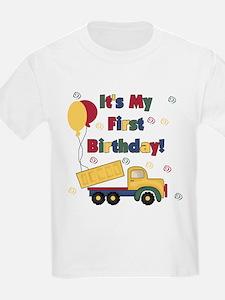 DUMPTRUCKFIRSTBDAY T-Shirt