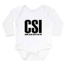 Unique Murder scene Long Sleeve Infant Bodysuit