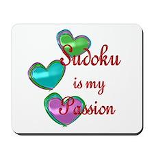Sudoku Passion Mousepad
