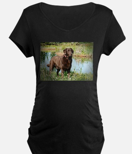 Chocolate Labrador Ready for the Hunt T-Shirt
