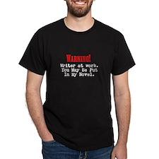 A Novel Threat Dark T-Shirt