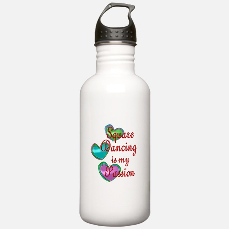 Square Dancing Passion Water Bottle