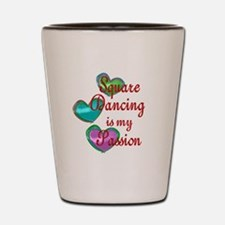 Square Dancing Passion Shot Glass
