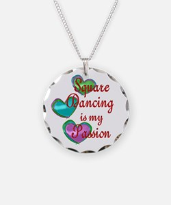Square Dancing Passion Necklace