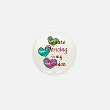 Square Dancing Passion Mini Button (10 pack)