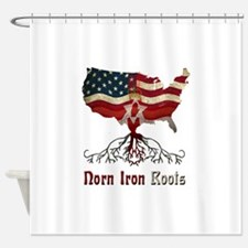 American Northern Irish Roots Shower Curtain
