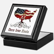 American Northern Irish Roots Keepsake Box