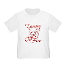 Tammy On Fire T