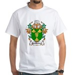 MacRannell Coat of Arms White T-Shirt