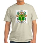 MacRannell Coat of Arms Ash Grey T-Shirt