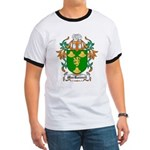 MacRannell Coat of Arms Ringer T