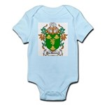 MacRannell Coat of Arms Infant Creeper