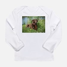 Waiting for Action Long Sleeve Infant T-Shirt