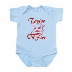 Taylor On Fire Infant Bodysuit