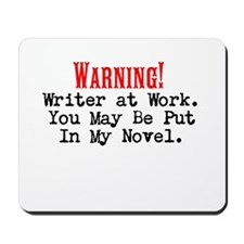 A Novel Threat Mousepad
