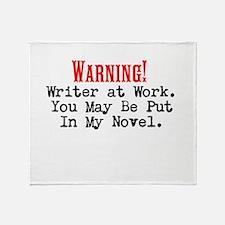 A Novel Threat Throw Blanket
