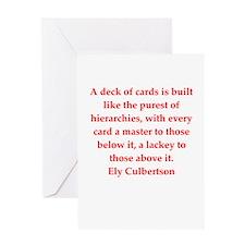 bridge quote Greeting Card