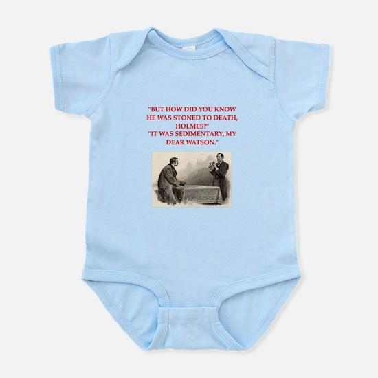 holmes joke Infant Bodysuit