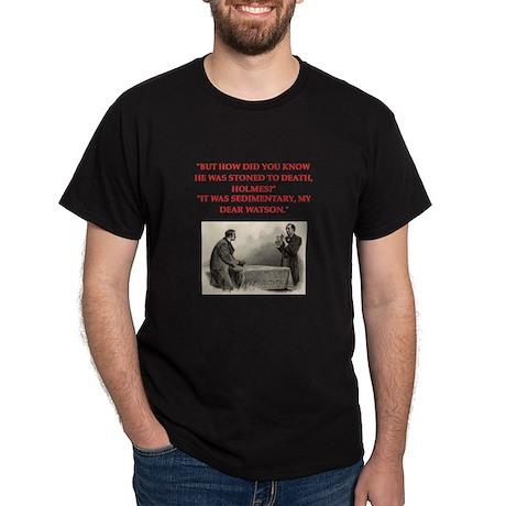 holmes joke Dark T-Shirt