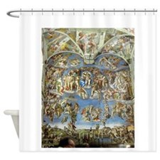 michel2.png Shower Curtain