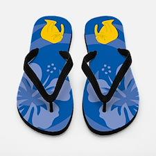 Manatee Flip Flops