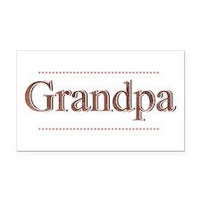Grandpa.png Rectangle Car Magnet