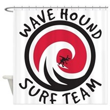 Wave Hound Surf Team Shower Curtain