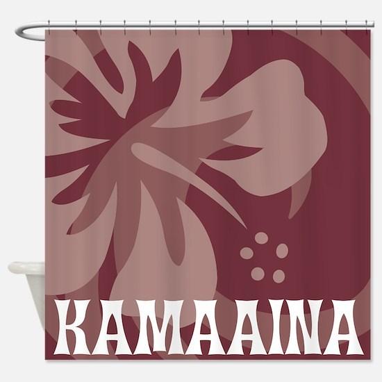 Kamaaina Shower Curtain